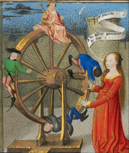 Coëtivy_Master_(Henri_de_Vulcop-)_(French,_active_about_1450_-_1485)_-_Philosophy_Consoling_Boethius_and_Fortune_Turning_the_Wheel_-_Google_Art_Project